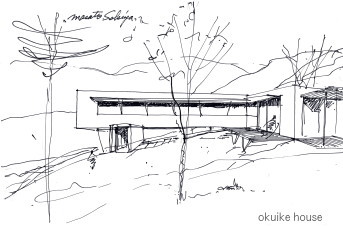 Sketch; House in Okuike