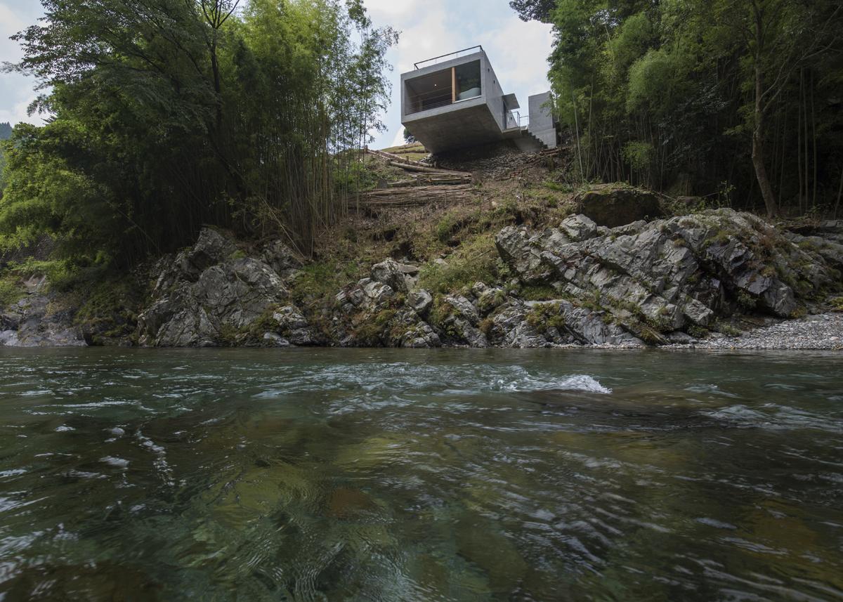 Cliff House in Tenkawa